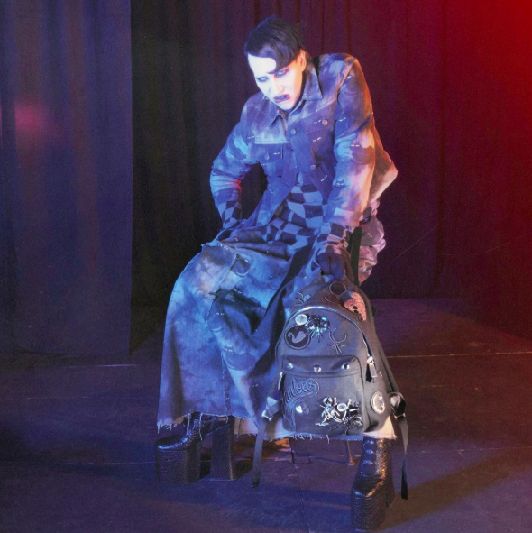 Campagne Marc Jacobs Automne/Hiver 2016 - Marilyn Manson
