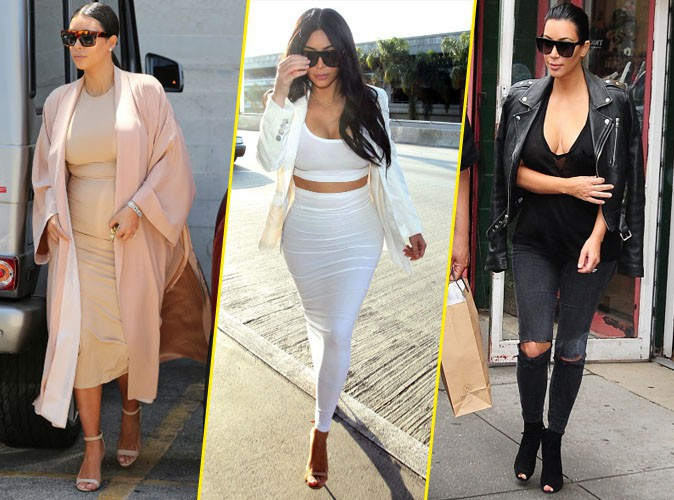 Photos : Kim Kardashian : faites votre shopping directement dans son dressing !