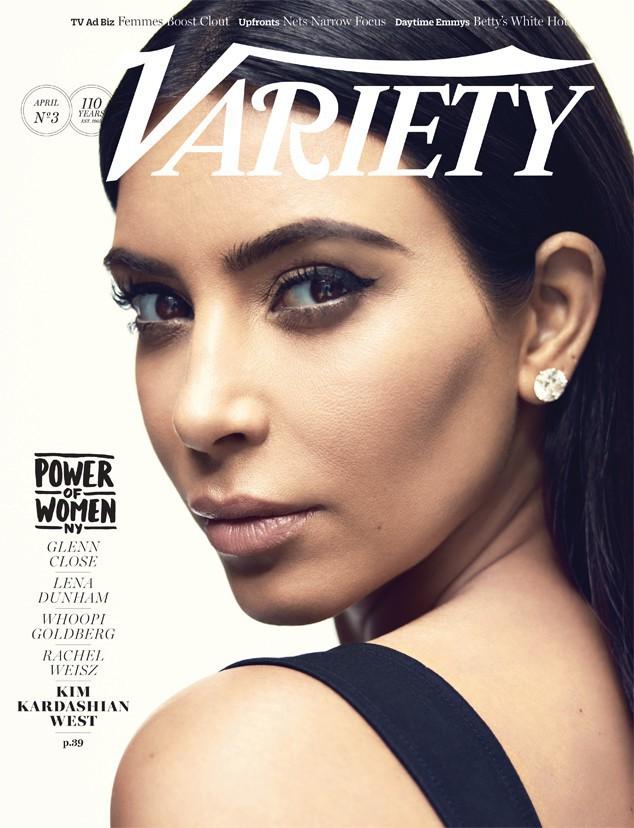 Photos : Kim Kardashian, portrait d'une femme de pouvoir et de coeur pour Variety Magazine !
