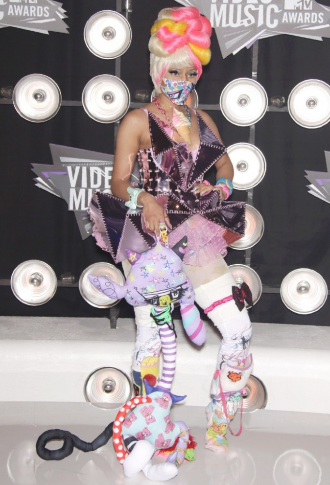 Nicki Minaj avec des bijoux DuePunti.