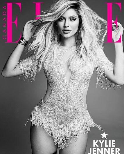 Kylie Jenner en une de ELLE Canada