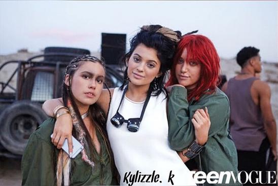 Photos : Kylie Jenner retrouve son naturel pour Teen Vogue, confidences et nouvelles photos !