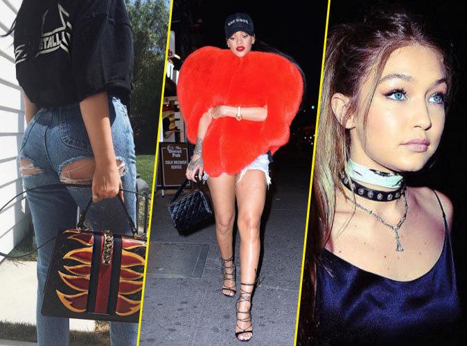 Kylie Jenner, Rihanna, Gigi Hadid... Découvrez les 6 tendances mode qui ont vécu seulement en 2016 !