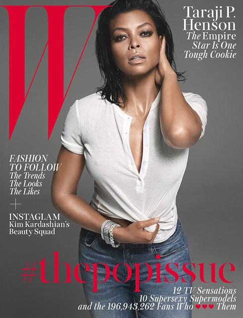 Taraji P. Henson en couverture de W magazine