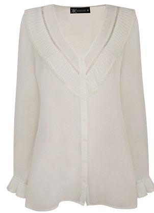 Cardigan blanc - 43€