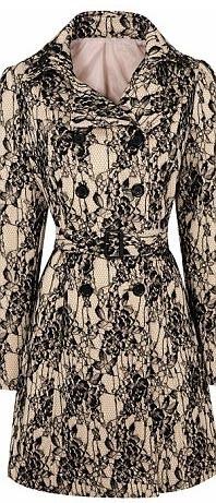 Manteau impirmé floral - 93€