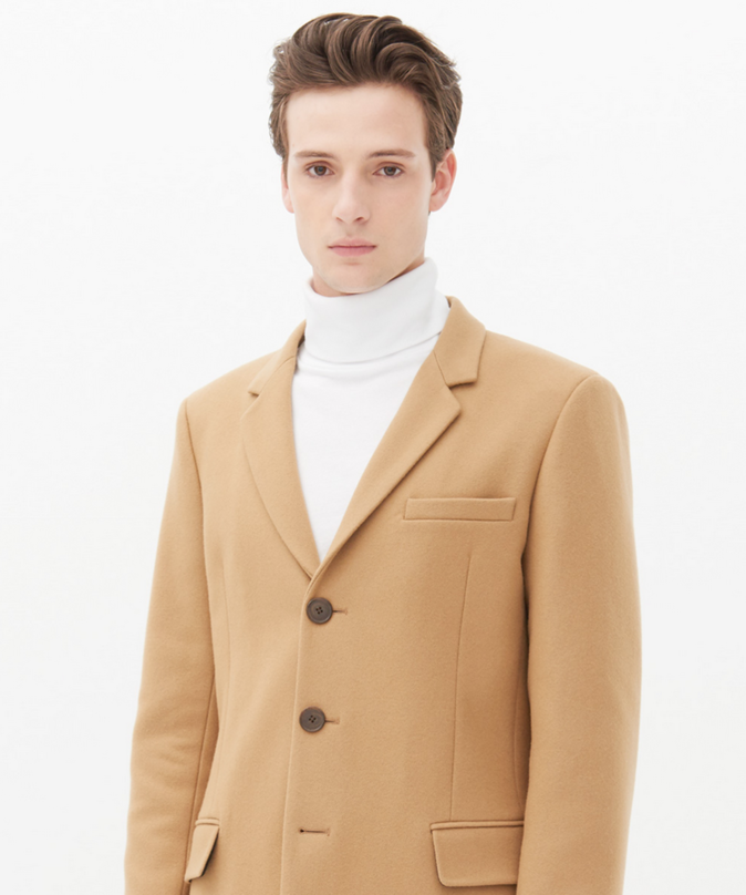 Manteau long Sandro Apollo
