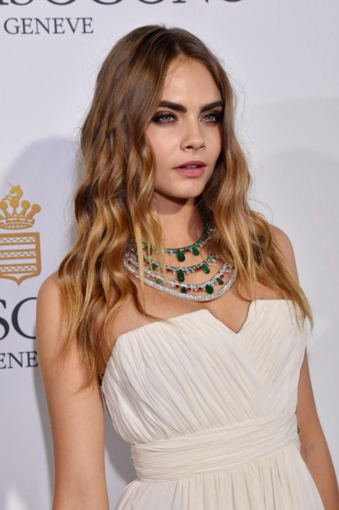 Les plus beaux beauty look de la soirée de Grisogono : Cara Delevingne