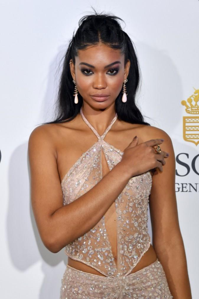 Les plus beaux beauty look de la soirée de Grisogono : Chanel Iman