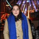 Marilou Berry devant Le Grand Palais