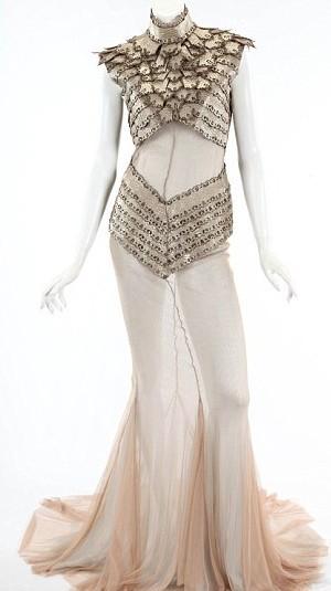 La robe Eddie Gavriilidis, estimée entre 10 000$ et 12 000$