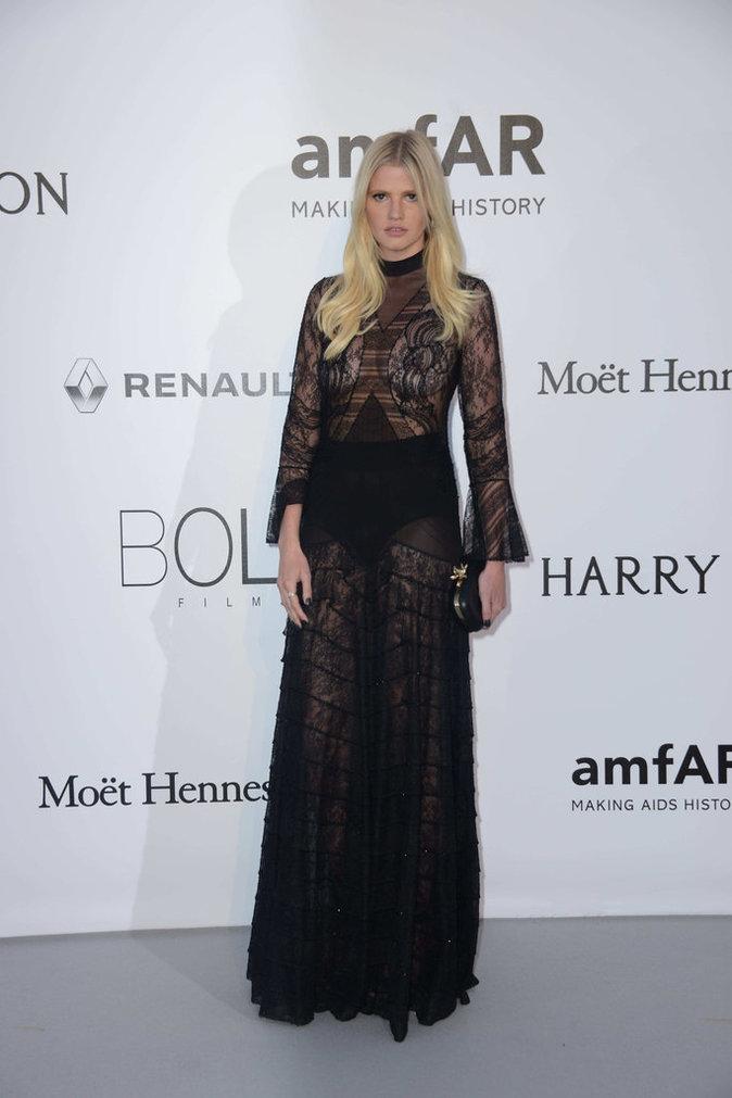 Lara Stone en Givenchy Haute Couture