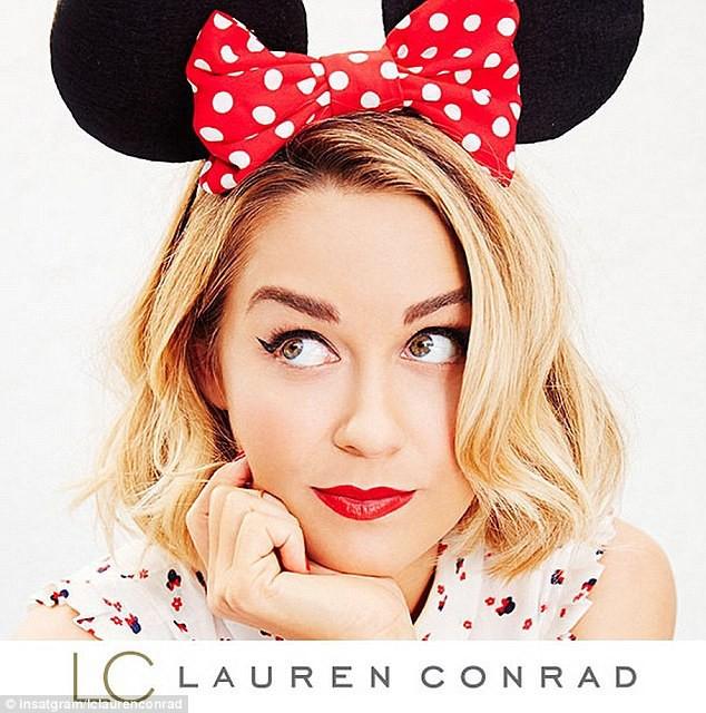 Photos : Lauren Conrad et Minnie Mouse s'unisent pour Kohl's, retour en enfance garanti !