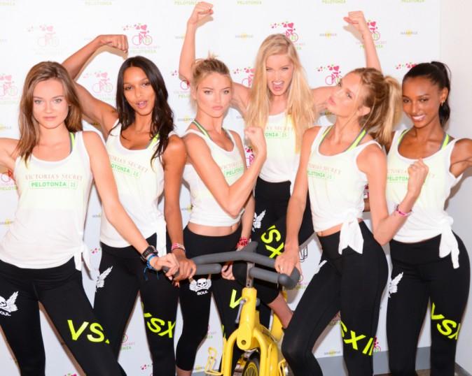 Photos : le gang des nouveaux Anges Victoria's Secret fait son show pour la bonne cause !