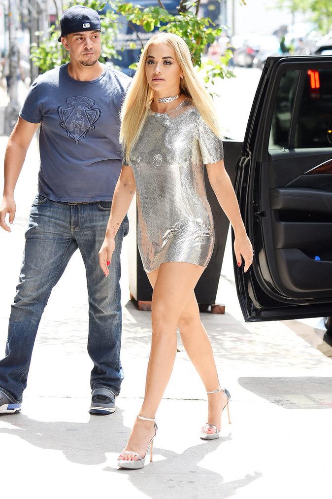 Rita Ora, le 15 juillet, à New York