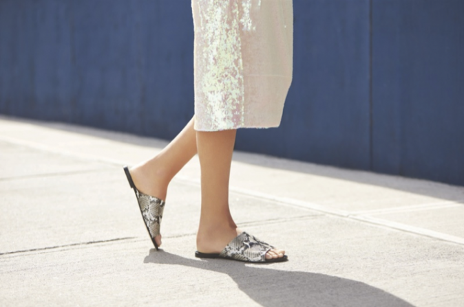 Leandra Medine pour Raye Shoes