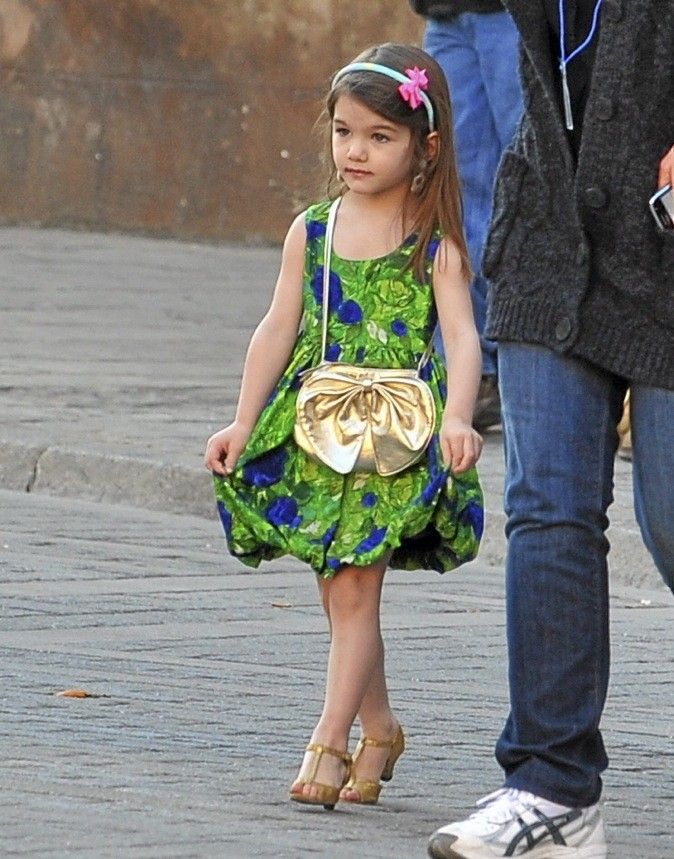 Suri Cruise, la plus fashion des babies VIP !