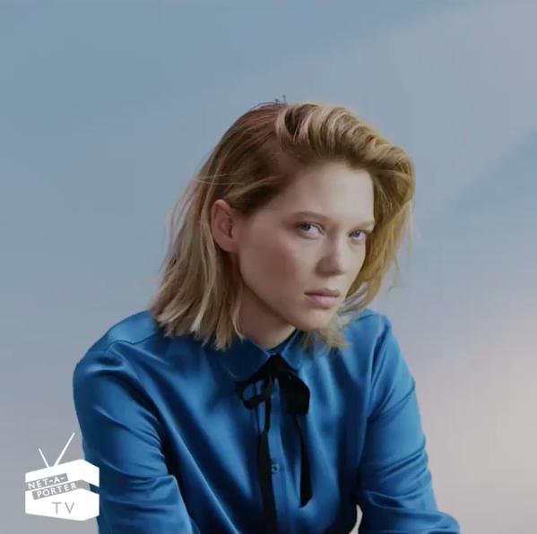 Léa Seydoux pour The Edit
