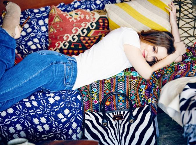 Photos : Leighton Meester choisie par Jimmy Choo comme égérie bohème chic !