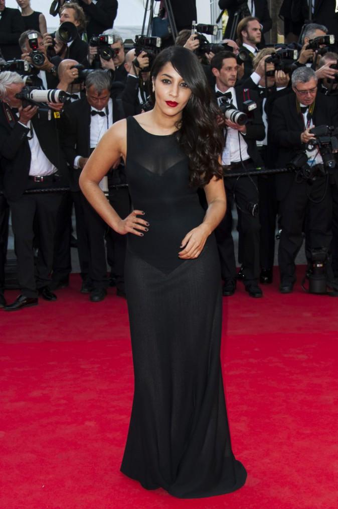 Leïla Bekhti égérie L'Oréal Paris, le 18 mai 2014 à Cannes