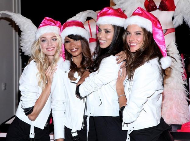 Victoria's Secret passe en mode Noël !