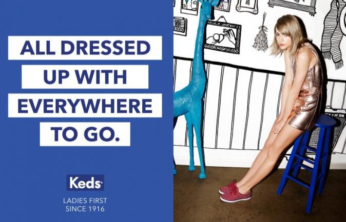 Taylor Swift pour Keds