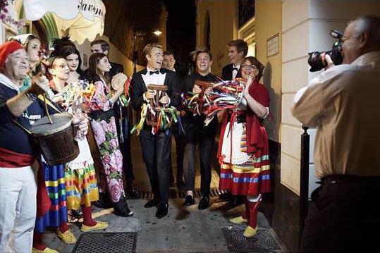Photos : Les coulisses du shooting Dolce & Gabbana avec les DG Millennials !