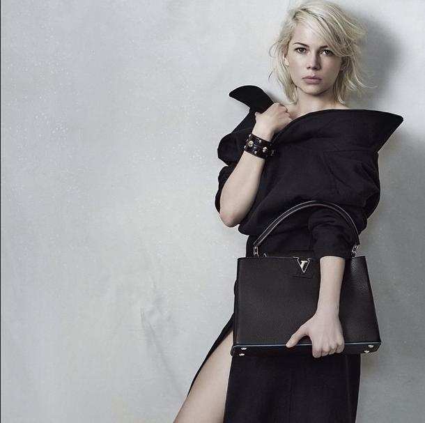 Les photos de Michelle Williams pour Louis Vuitton dévoilées le 29 avril 2015