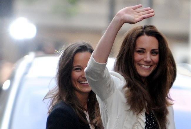Kate Middleton et sa soeur Pippa
