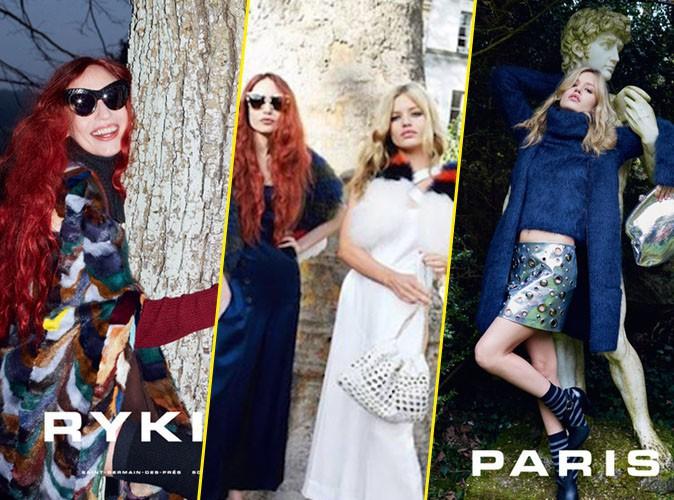 Photos : Les soeurs Jagger jouent les parisiennes pour Sonia Rykiel !