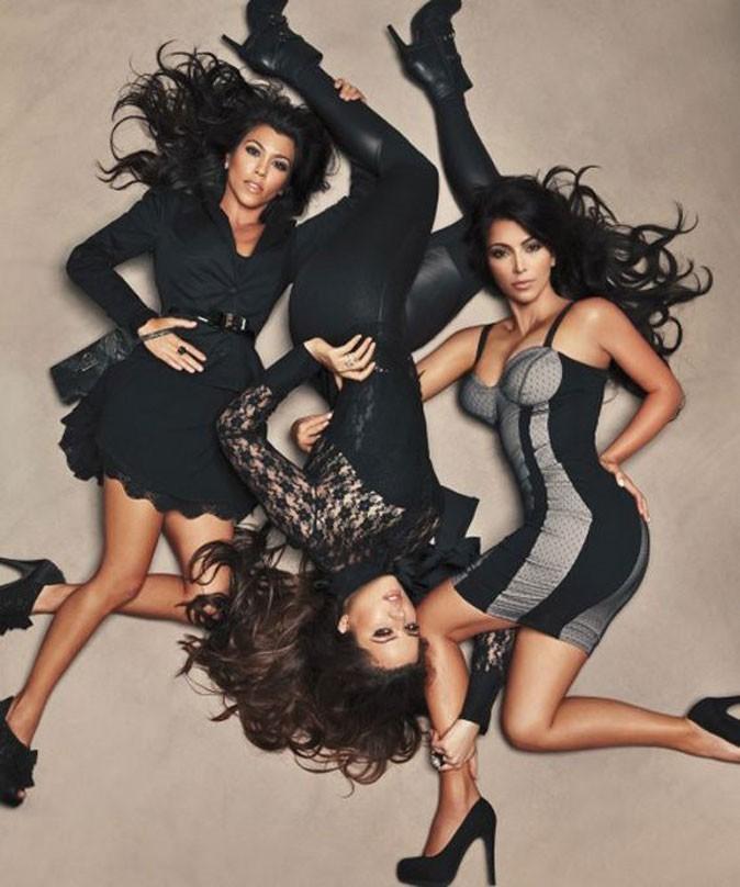Les soeurs Kardashian sous l'objectif d'Annie Leibovitz !