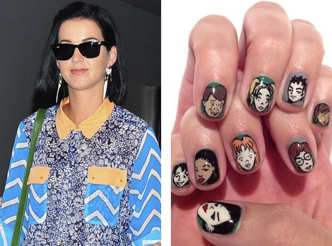 Katy Perry et sa manucure Daria