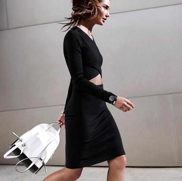 Photos : Lily Aldridge : libre, angélique et printanière pour la nouvelle collection Michael Kors