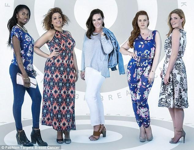 La campagne de Fashion Breast Cancer : des mannequins de toutes formes et toutes tailles