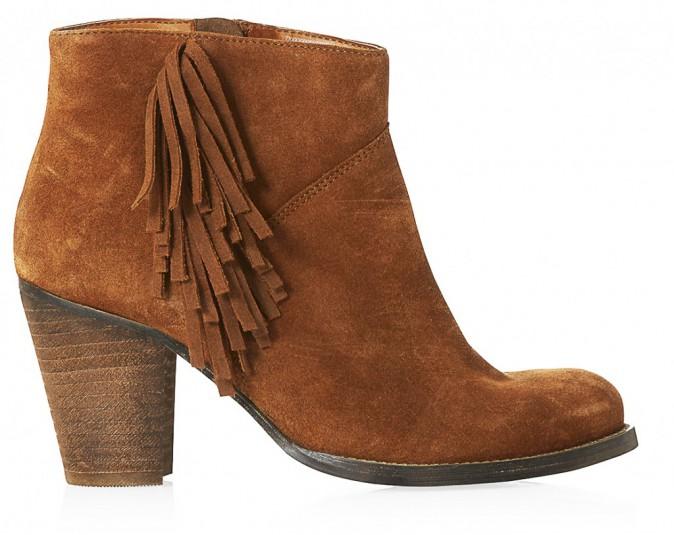 Boots à franges, New Look 64,99€