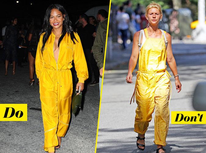 La combinaison jaune