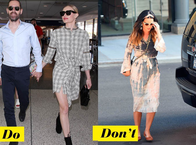La robe-chemise - Do : Kate Bosworth / Don't : Katy Perry