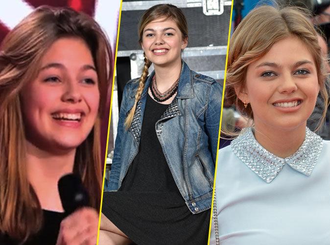 """Photos : Louane : de """" The Voice """" à L'Oréal... Découvrez son évolution physique !"""