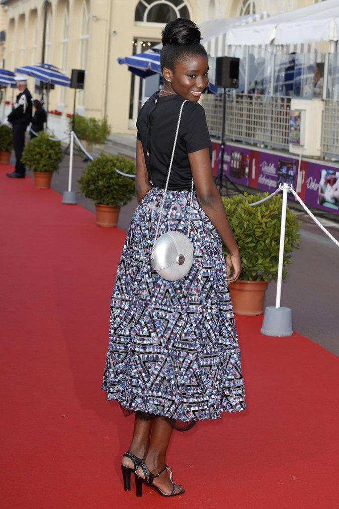 Karidja Touree au Festival de Cabourg