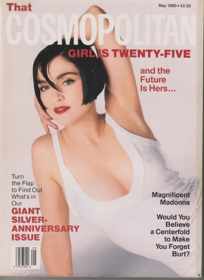 1990 : Madonna pour la une de Cosmopolitan