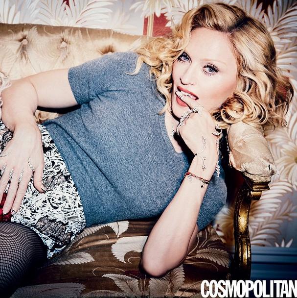 Photos : Madonna, 56 ans, toujours aussi trash, même pour les 50 ans de Cosmo !