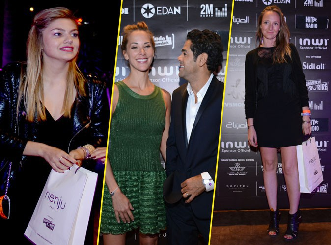 Louane, Jamel Debbouze, Melissa Theuriau et Audrey Lamy