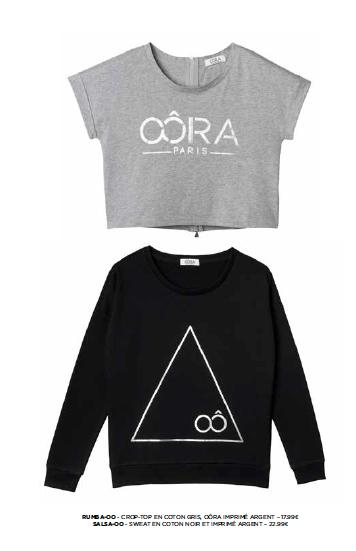 La petite surprise de la rentrée, les vêtements Oôra basic line !