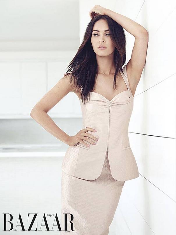 Photos : Megan Fox, nude et sage dans le nouveau shooting d'Harper's Bazaar Arabia !
