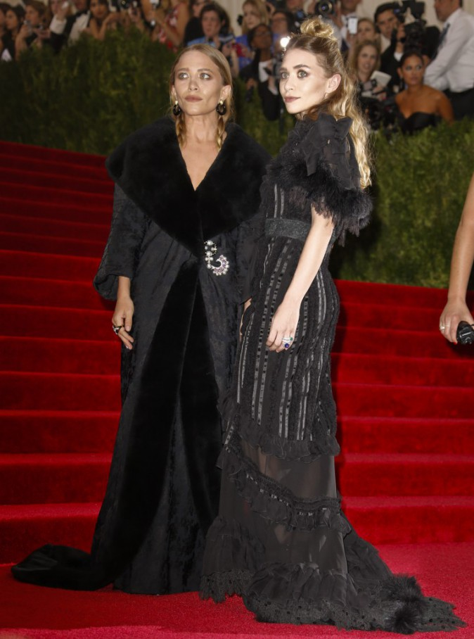 Mary Kate et Ashley Olsen en Dior
