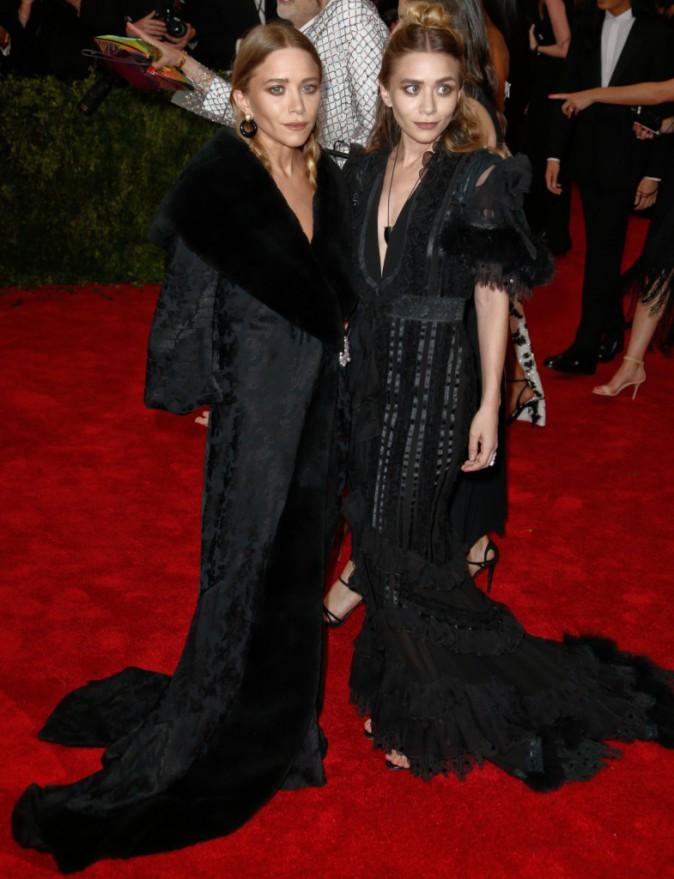 Mary Kate et Ashley Olsen en Dior