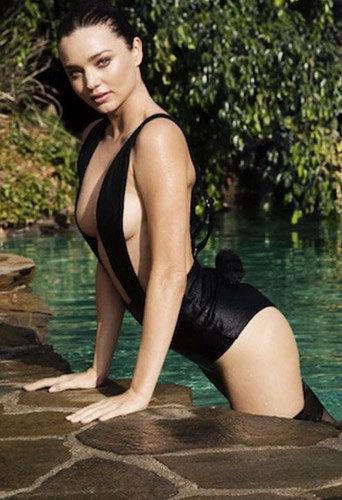 Miranda Kerr pour LOVE Magazine