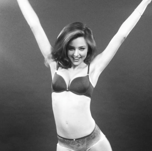 Miranda Kerr pour la promotion de l'application Boomerang