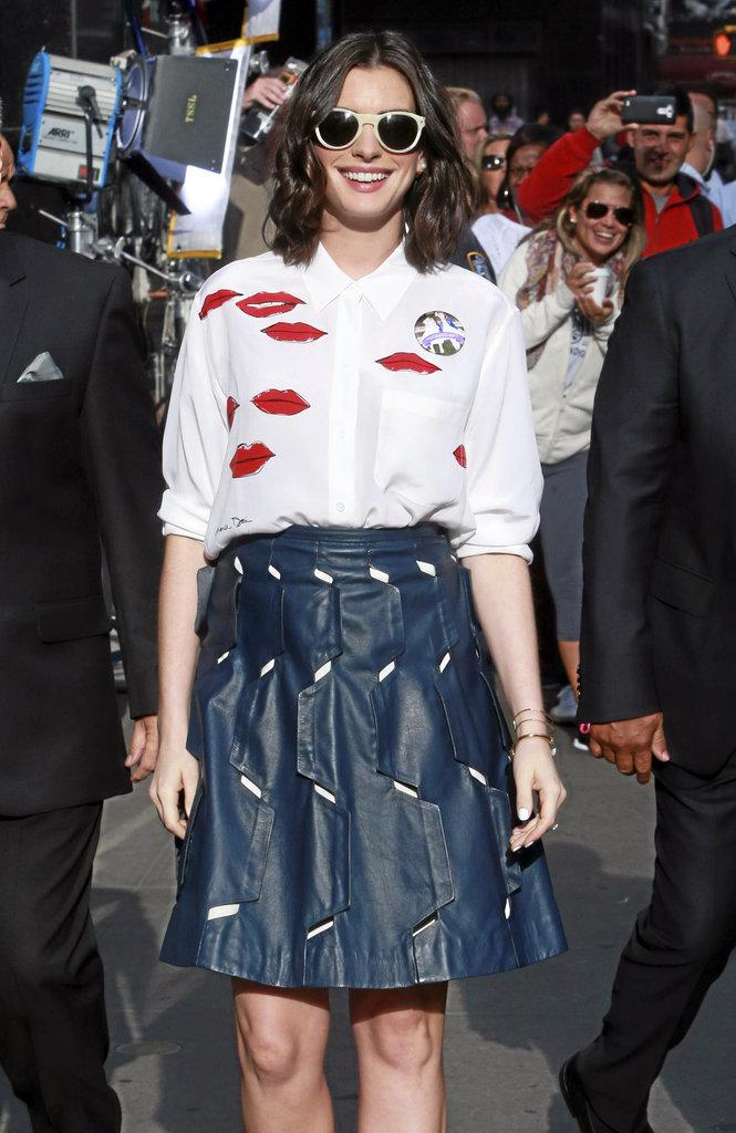 Où trouver la chemise d'Anne Hathaway ?