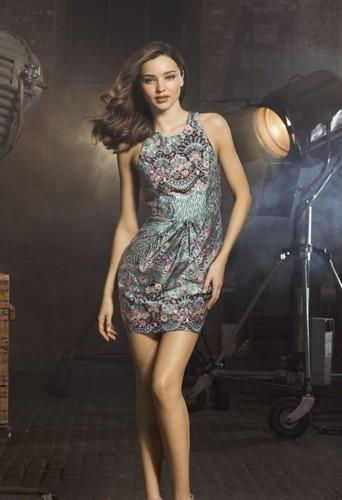 Miranda Kerr pour la collection Automne-Hiver 2013 de David Jones.
